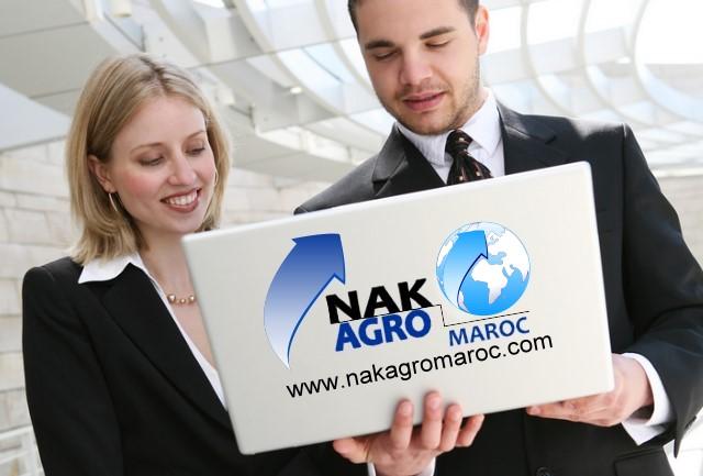 lancement officiel de site web de la société NAK AGRO MAROC