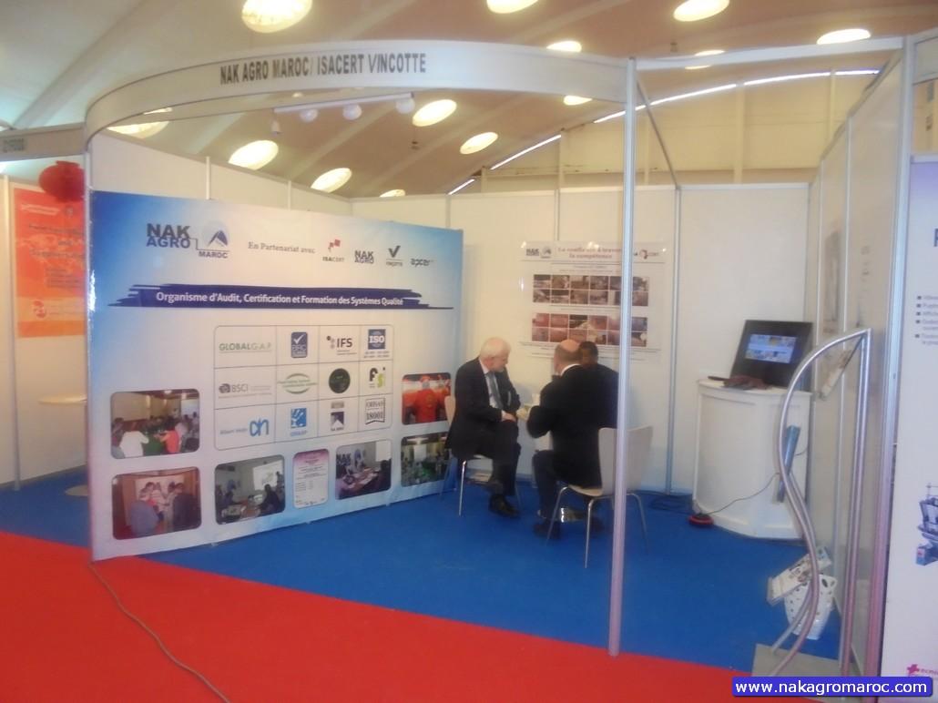 Nak Agro Maroc, a participé au salon MAFEX 2014 3ème édition à l'Office des Foires et Expositions de Casablanca, du 11 au 13 décembre 2014